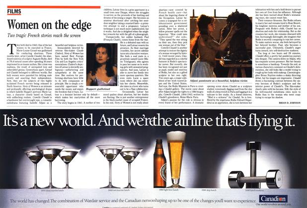Article Preview: Women on the edge, February 1990 | Maclean's
