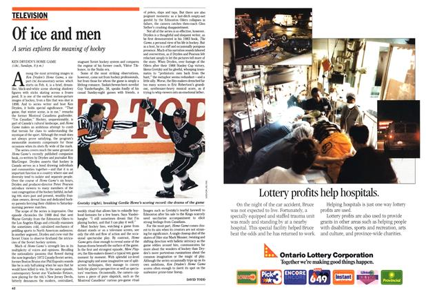 Article Preview: Of ice and men, February 1990 | Maclean's