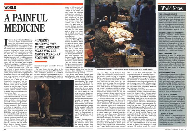 Article Preview: A PAINFUL MEDICINE, February 1990 | Maclean's