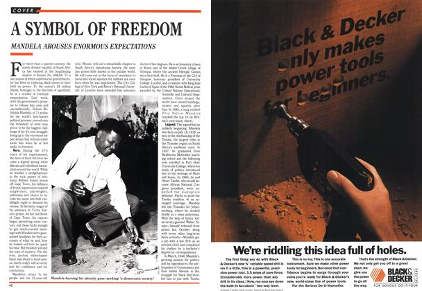 Article Preview: A SYMBOL OF FREEDOM, February 1990 | Maclean's