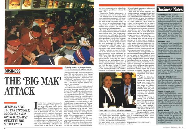 Article Preview: THE 'BIG MAK' ATTACK, February 1990 | Maclean's