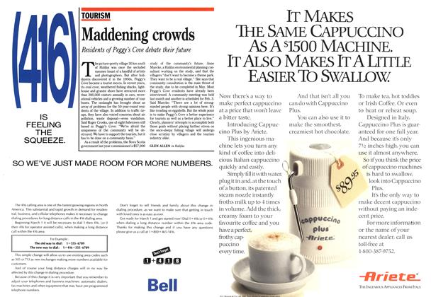 Article Preview: Maddening crowds, February 1990 | Maclean's