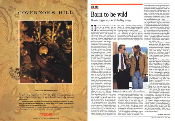 Article Preview: Born to be wild, February 1990 | Maclean's