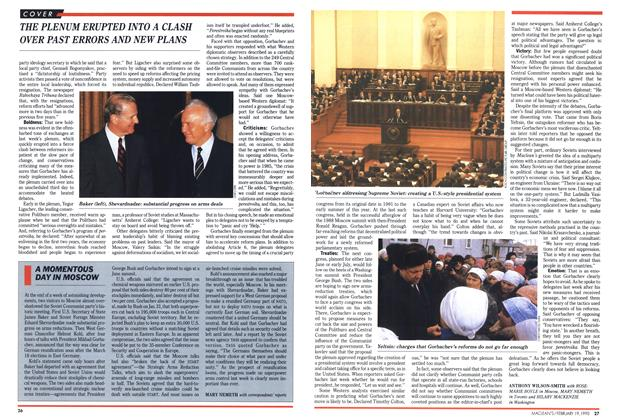 Article Preview: A MOMENTOUS DAY IN MOSCOW, February 1990 | Maclean's