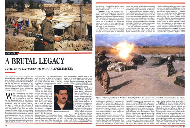 Article Preview: A BRUTAL LEGACY, February 1990 | Maclean's