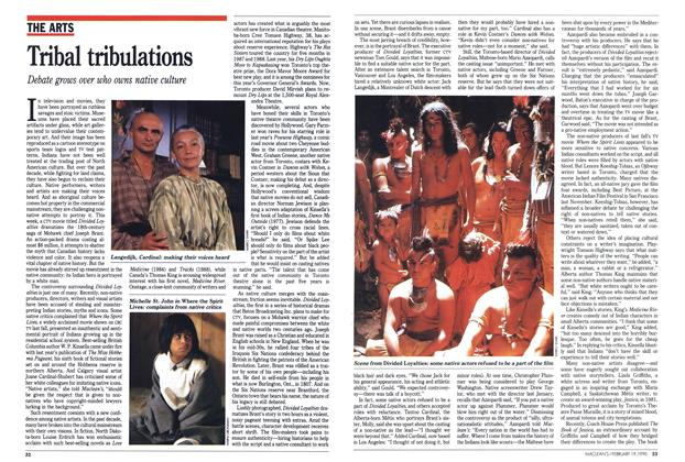 Article Preview: Tribal tribulations, February 1990 | Maclean's