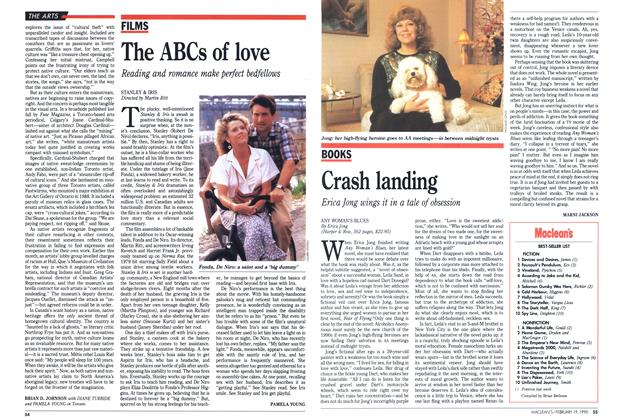 Article Preview: Crash landing, February 1990 | Maclean's