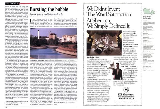 Article Preview: Bursting the bubble, February 1990 | Maclean's
