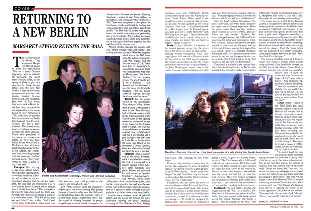 Article Preview: RETURNING TO A NEW BERLIN, February 1990 | Maclean's