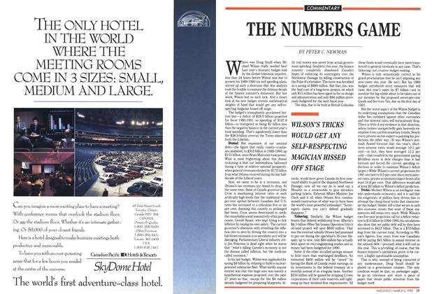 Article Preview: THE NUMBERS GAME, March 1990 | Maclean's