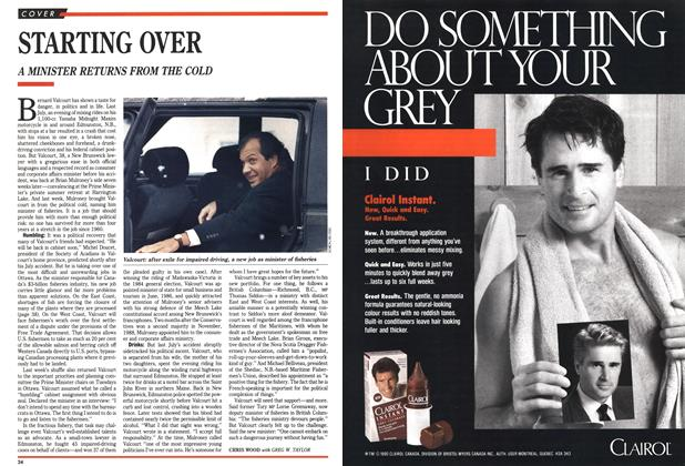 Article Preview: STARTING OVER, March 1990 | Maclean's