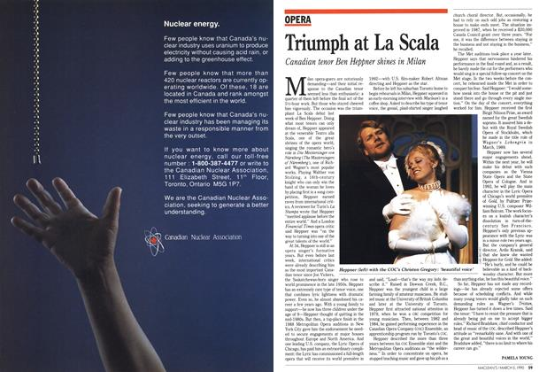 Article Preview: Triumph at La Scala, March 1990 | Maclean's