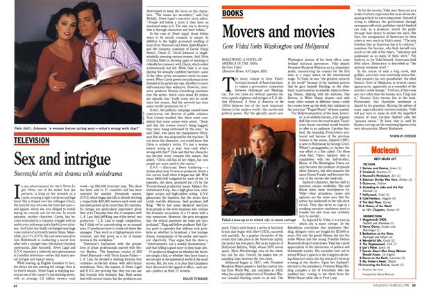 Article Preview: Movers and movies, March 1990 | Maclean's