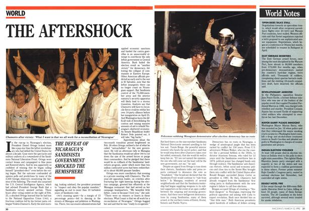 Article Preview: THE AFTERSHOCK, March 1990 | Maclean's
