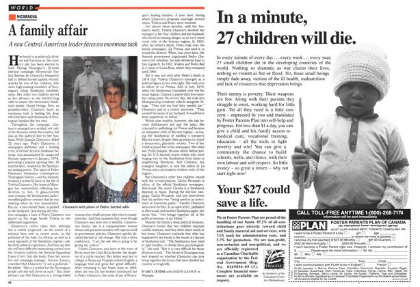 Article Preview: A family affair, March 1990 | Maclean's