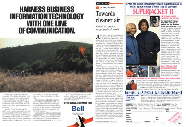 Article Preview: Towards cleaner air, March 1990 | Maclean's