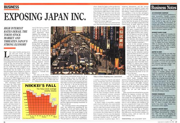 Article Preview: EXPOSING JAPAN INC., March 1990 | Maclean's