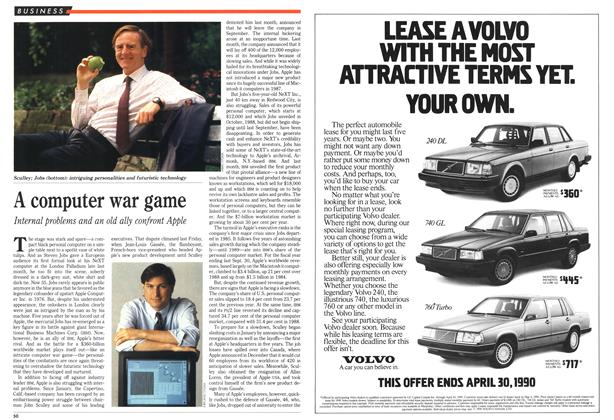 Article Preview: A computer war game, March 1990 | Maclean's