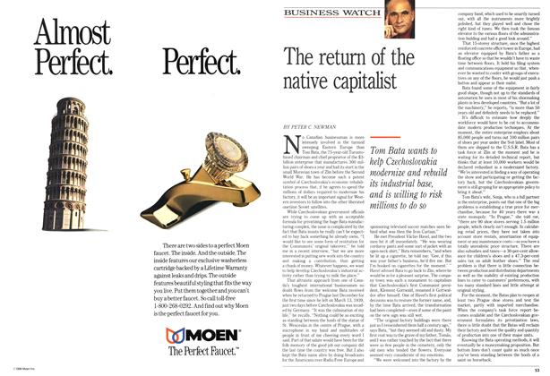 Article Preview: The return of the native capitalist, March 1990 | Maclean's