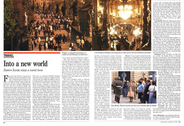 Article Preview: Into a new world, March 1990 | Maclean's