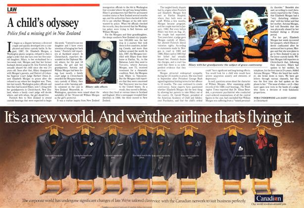 Article Preview: A child's odyssey, March 1990 | Maclean's