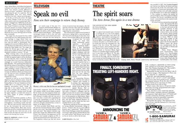 Article Preview: The spirit soars, March 1990 | Maclean's