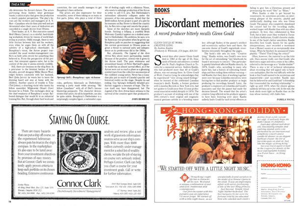 Article Preview: Discordant memories, March 1990 | Maclean's