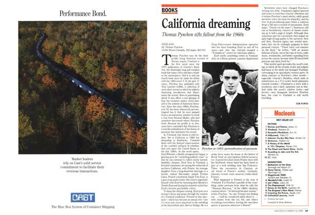 Article Preview: California dreaming, March 1990 | Maclean's