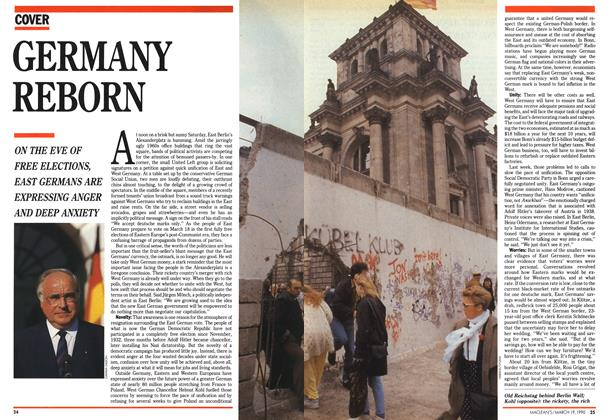 Article Preview: GERMANY REBORN, March 1990 | Maclean's