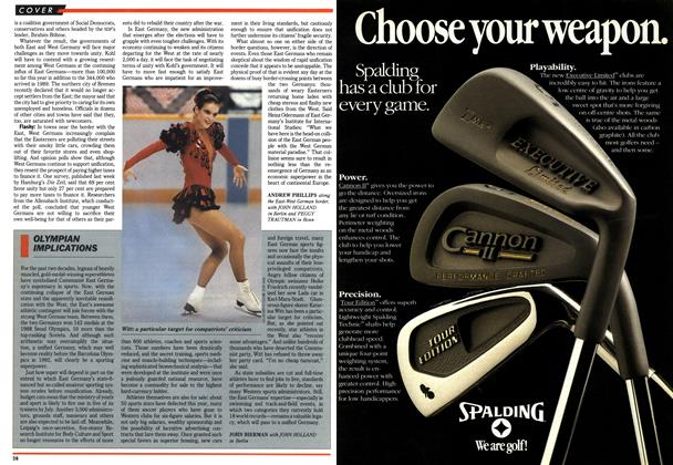 Article Preview: OLYMPIAN IMPLICATIONS, March 1990   Maclean's