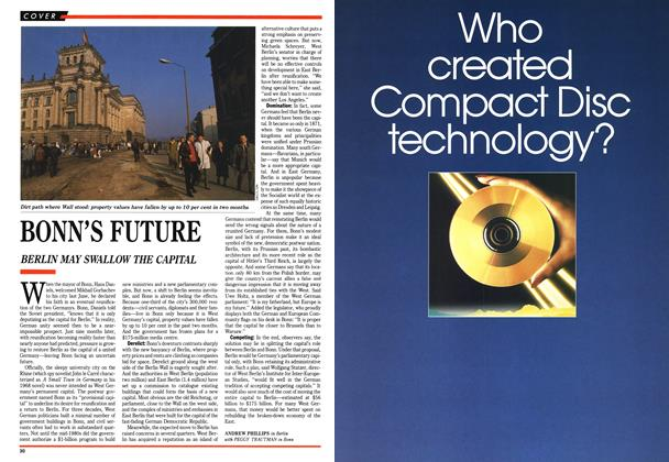Article Preview: BONN'S FUTURE, March 1990 | Maclean's