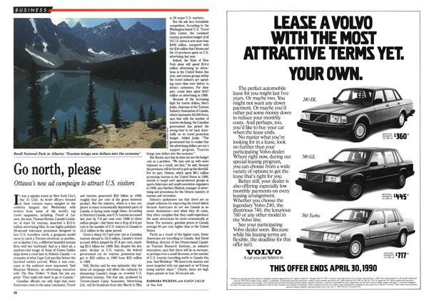 Article Preview: Go north, please, March 1990 | Maclean's