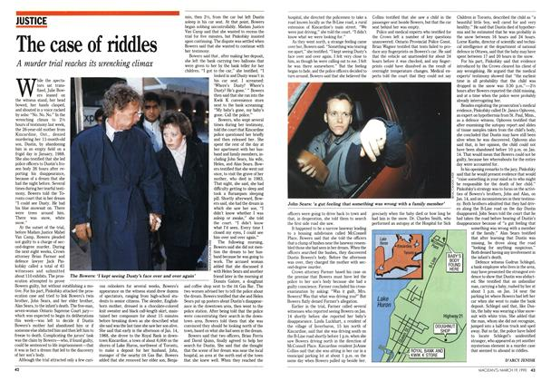 Article Preview: The case of riddles, March 1990 | Maclean's