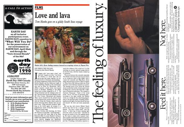 Article Preview: Love and lava, March 1990 | Maclean's