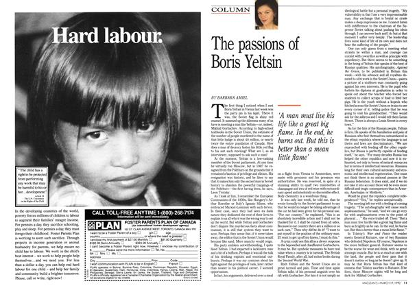 Article Preview: The passions of Boris Yeltsin, March 1990 | Maclean's