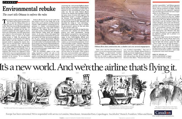 Article Preview: Environmental rebuke, March 1990 | Maclean's