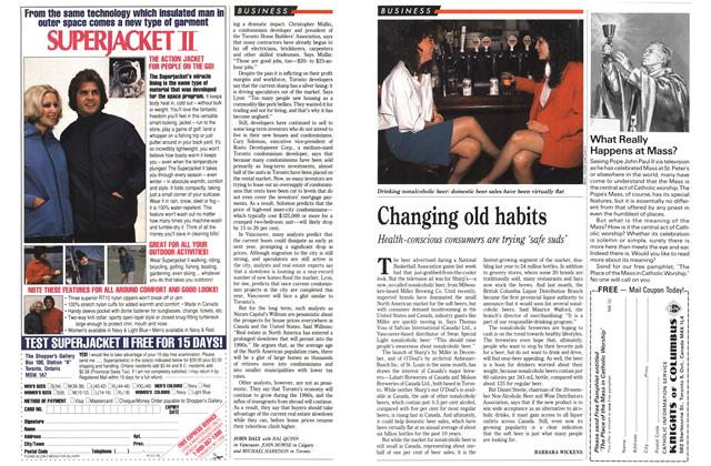 Article Preview: Changing old habits, March 1990   Maclean's
