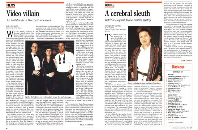 Article Preview: A cerebral sleuth, March 1990 | Maclean's