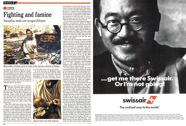 Article Preview: Fighting and famine, April 1990 | Maclean's