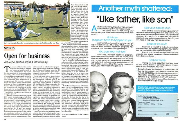 Article Preview: Open for business, April 1990 | Maclean's