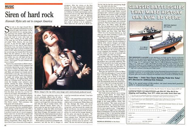 Article Preview: Siren of hard rock, April 1990 | Maclean's
