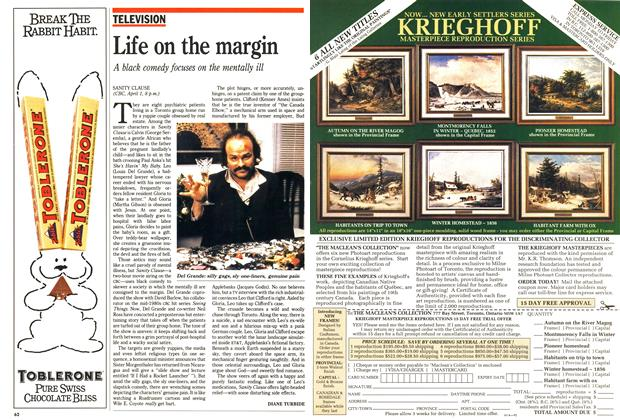 Article Preview: Life on the margin, April 1990 | Maclean's
