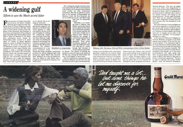 Article Preview: A widening gulf, April 1990 | Maclean's