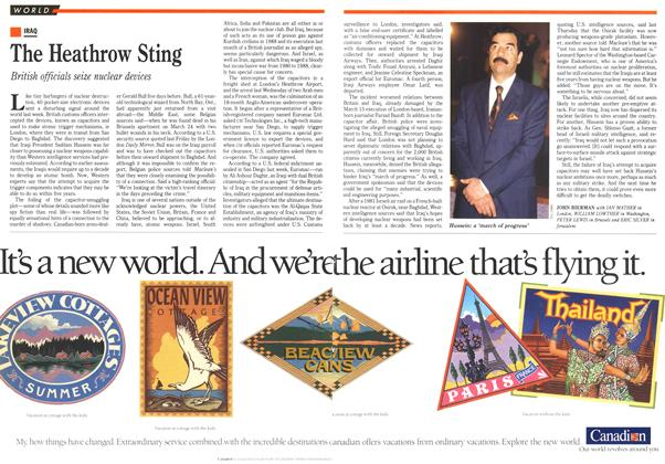Article Preview: The Heathrow Sting, April 1990 | Maclean's