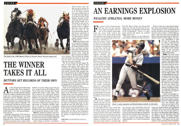 Article Preview: AN EARNINGS EXPLOSION, April 1990 | Maclean's