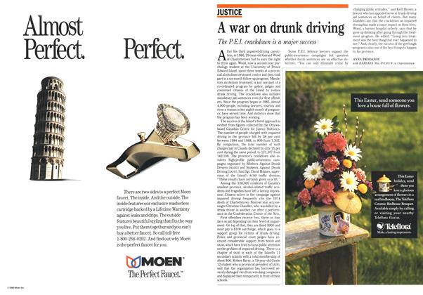 Article Preview: A war on drunk driving, April 1990 | Maclean's