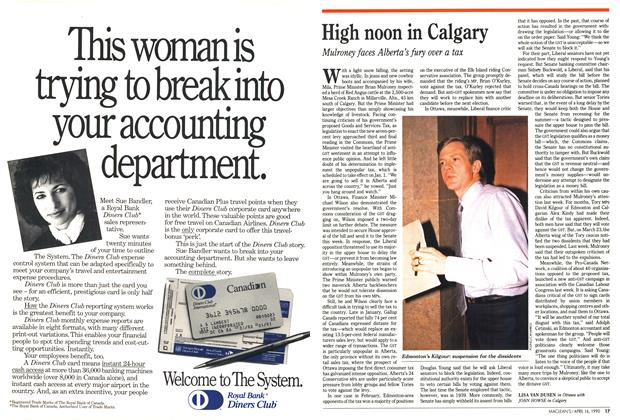 Article Preview: High noon in Calgary, April 1990 | Maclean's