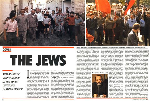 Article Preview: THE JEWS, April 1990 | Maclean's