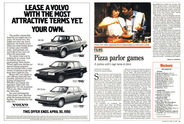 Article Preview: Pizza parlor games, April 1990 | Maclean's
