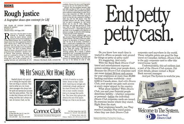 Article Preview: Rough justice, April 1990 | Maclean's